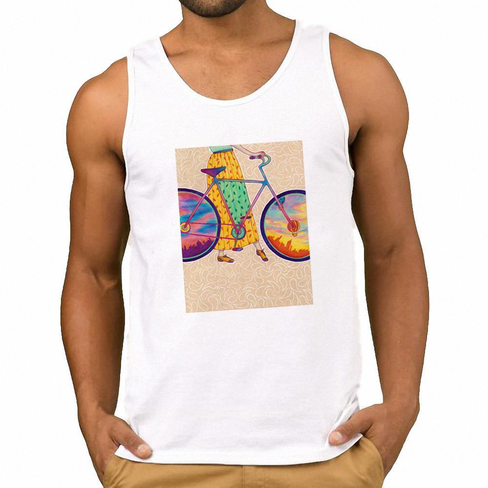 Moda Marka Erkek Streetwear Erkekler Tankı Üstleri Serin Grafik erkek Yelek Hipster Fitness Üst Japon Harajuku Egzersiz Gömlek