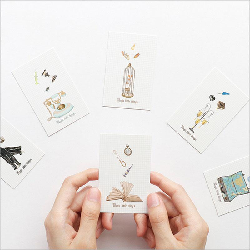 28 pcs/lot creative cute Magic hand post Card Postcard Birthday greeting card Letter Envelope Gift Set Message