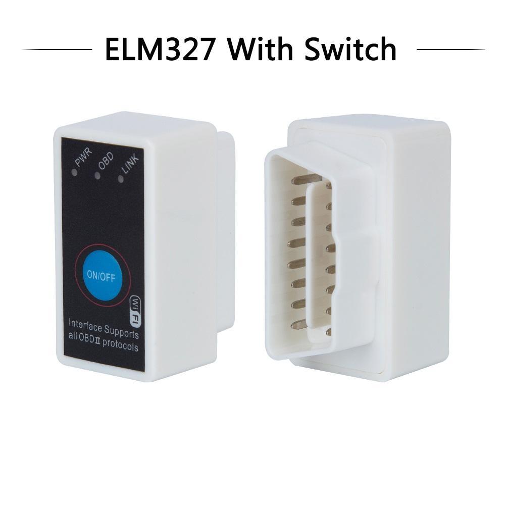 Fcarobd Super MINI ELM327 WIFI ON/OFF Switch V1.5 ELM327 WIFI OBD2/OBDII ELM 327 CAN-BUS Diagnostic Tool
