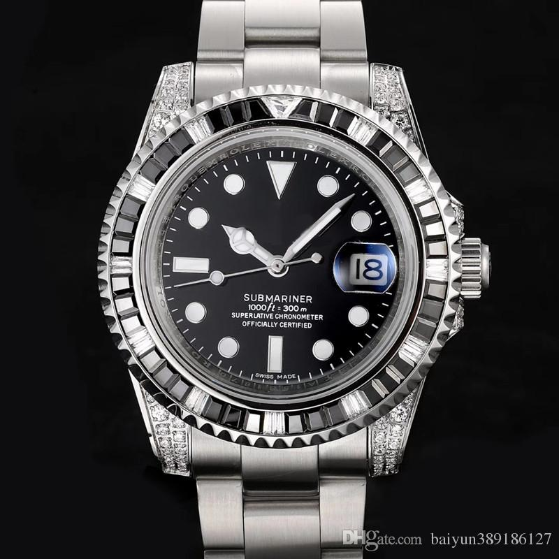 New High quality designer watches Luxury Watch Fashion Business Designer Watch Stainless Steel Waterproof Quartz Mens Watches Free Shipping