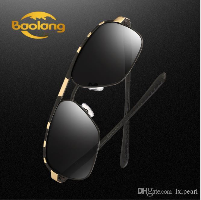 Lunettes de soleil polarisées pour hommes, lunettes de soleil classiques, lunettes de soleil, lunettes de conduite, lunettes de pêche en plein air.