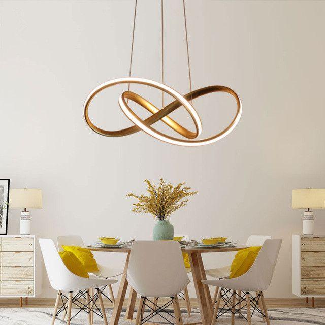 Creative Moderne LED Pendentif Lumière Pour Salon Chambre Salle À Manger Suspension Lampe LED Pendentif Lampe Accueil Éclairage Led Lustres