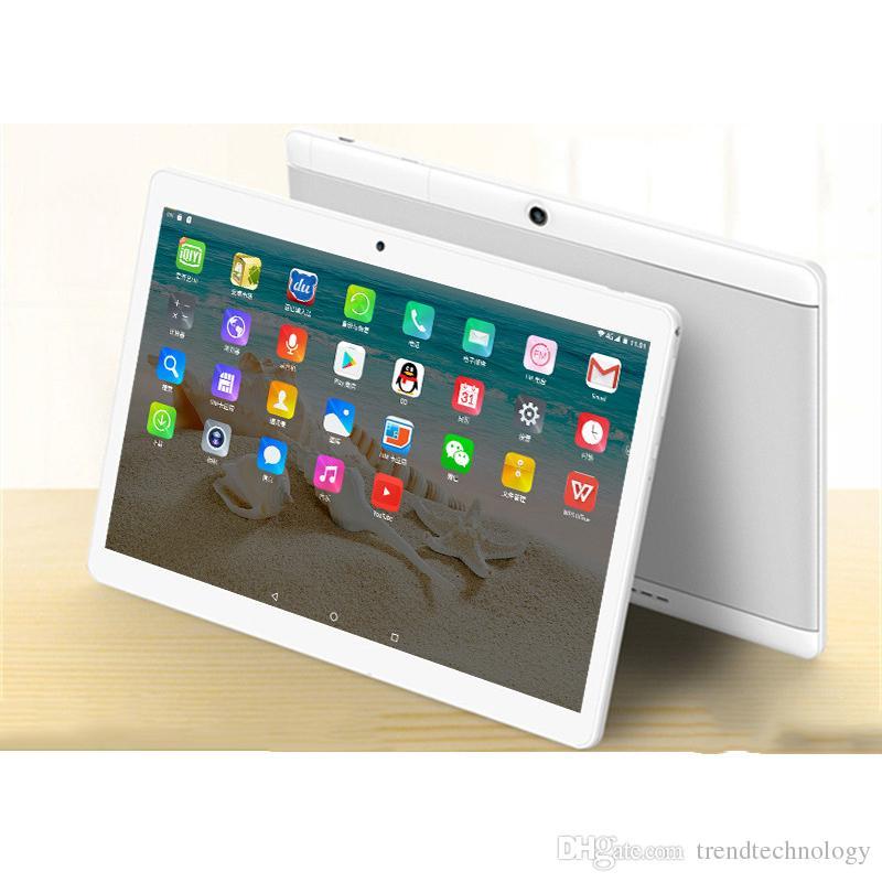 "2019 Hohe Qualität 10 Zoll MTK6572 MTK6582 IPS kapazitiver Touchscreen Dual-SIM-3G-Tablet-Telefon-PC 10 ""Android 6.0 Octa-Kern 4 GB 64 GB G-10PB"
