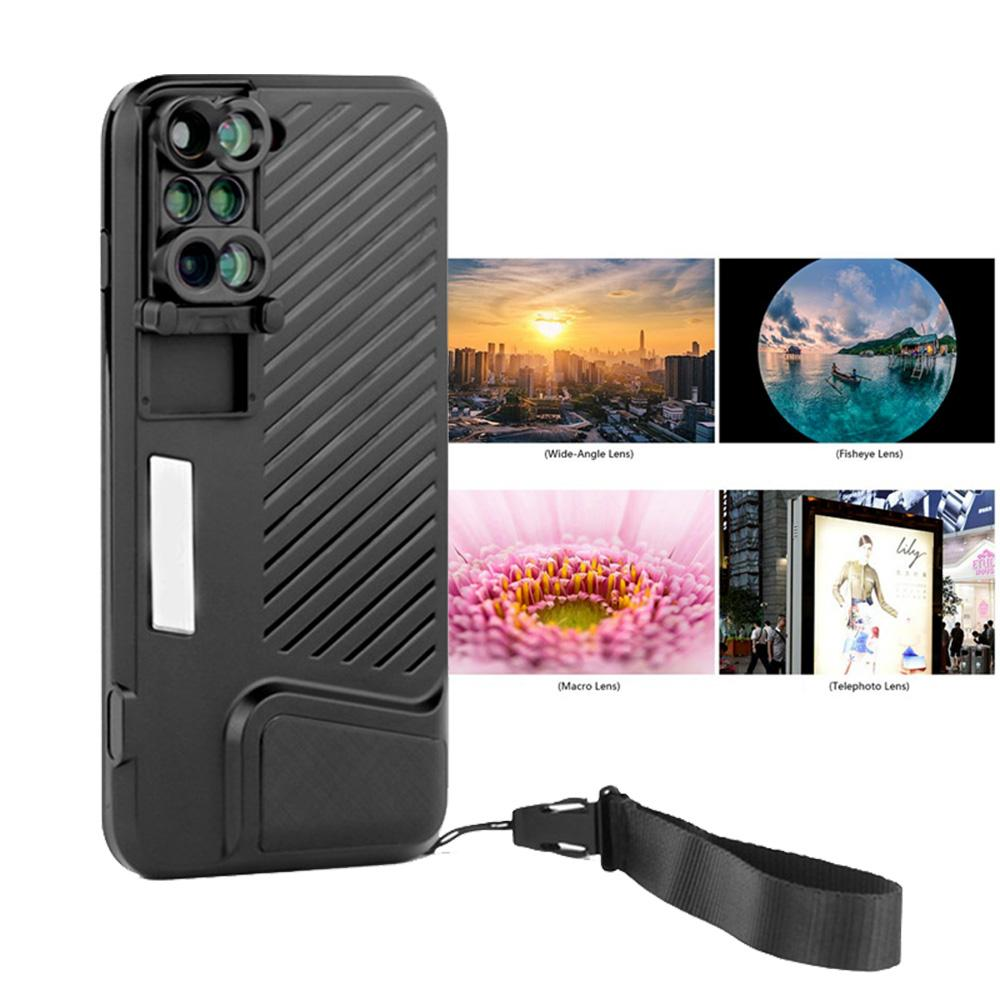 info for 97e41 05c5b EClouds New Arrival Dual Camera Lens Case For IPhone 8 Plus Fisheye Wide  Angle Macro Lens For IPhone 7 Plus Phone Telescope Lens Cell Phones Cases  ...