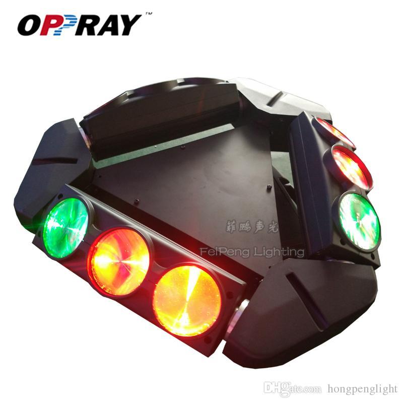 FeiPeng Aydınlatma Iki Garanti 9 ADET Işın Örümcek Işık 9 * 12 W 4in1 RGBW KTV Düğün Bar Culb Gece Praty için Hareketli Kafa Işık LED