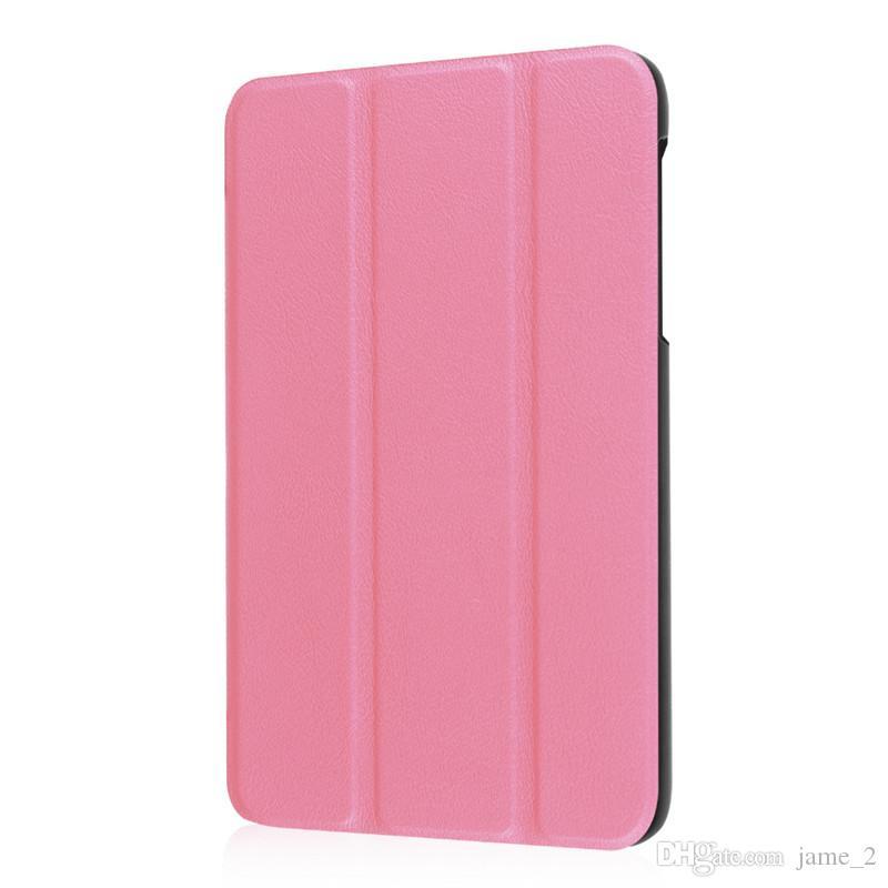 Für Samsung Galaxy Tab A 7,0 T280 T281 T285 SM-T280 SM-T285 tablet ultra schlank Magnetständer PU-Lederabdeckung Schutzhülle