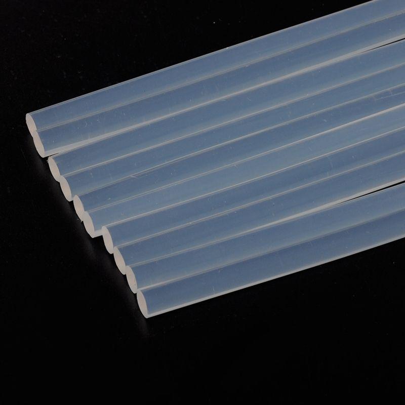 10Pcs 7mm x 190mm Hot Melt Glue Sticks For Electric Glue Gun Craft Album Repair Tools For Alloy Accessories