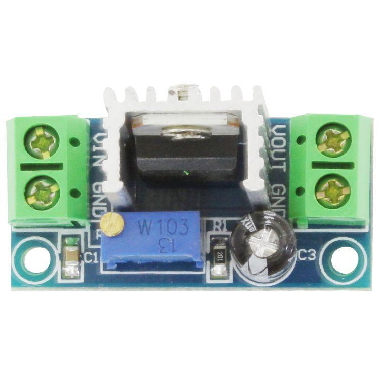 LM317 convertisseur DC - DC DC step-down carte de circuit imprimé
