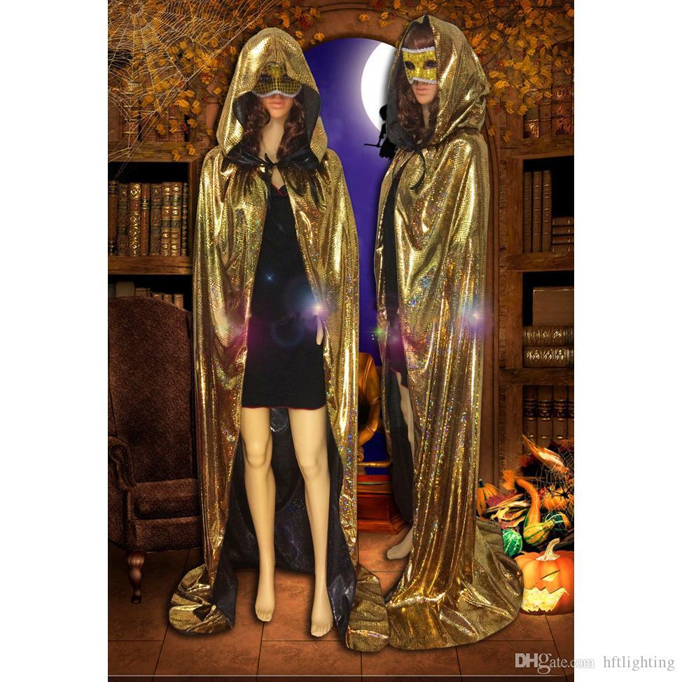 Femme Rouge à Capuche Robe De Chambre Grande Taille Halloween Vampire Gothique Costume Robe Fantaisie