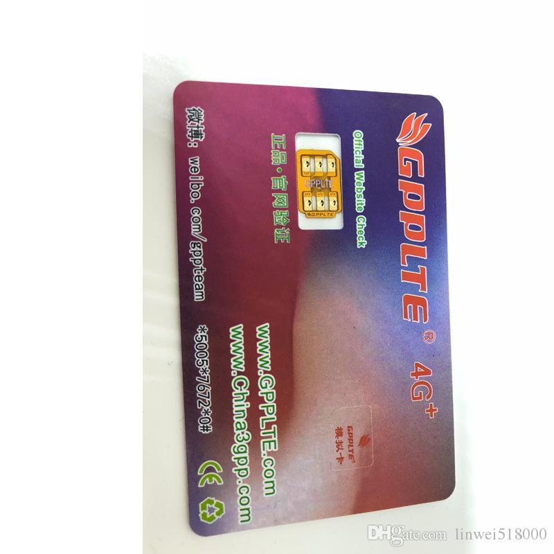 Original New GPPLTE v28 Gevey pro Unlock sim card Turbo sim for iphoneX,8,7,6 ,5s IOS13