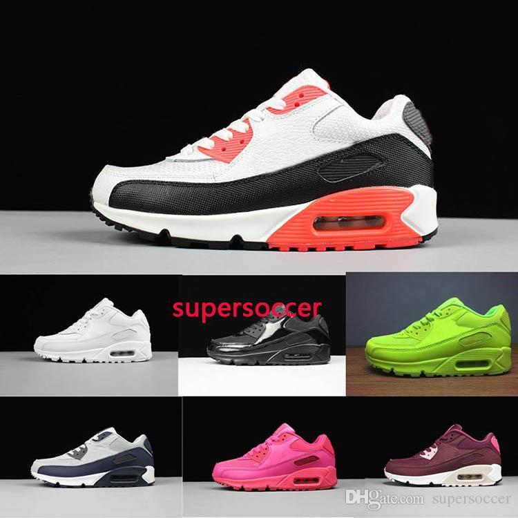 Alta Qualidade Nova Almofada Clássica Correndo Sapatos Mulheres Sapatos Soft Almofada Sapatilhas Ao Ar Livre Sapatos Esportivos Tamanho: 36-45