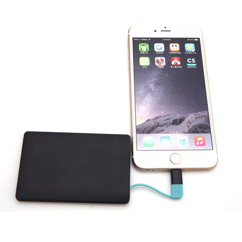 NEW Mini Card slim power bank 3000 mAH battery case powerbank For iPhone 6 6 Plus 5 5s 5c For S5 S4 S3 Note 4 3 For Xiaomi