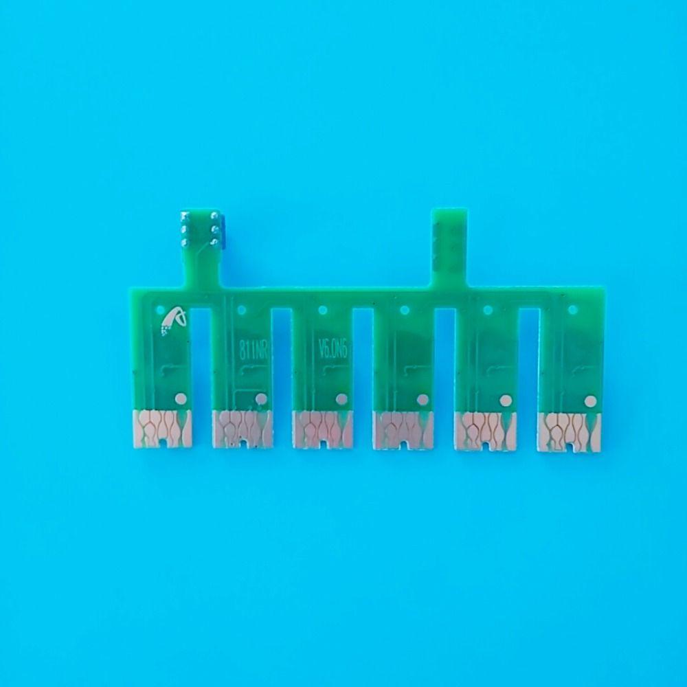 6 Цвет СНПЧ система дуги чип для EPSON 1390 T60 принтер автоматический сброс чип для EPSON T0851N-T0856N