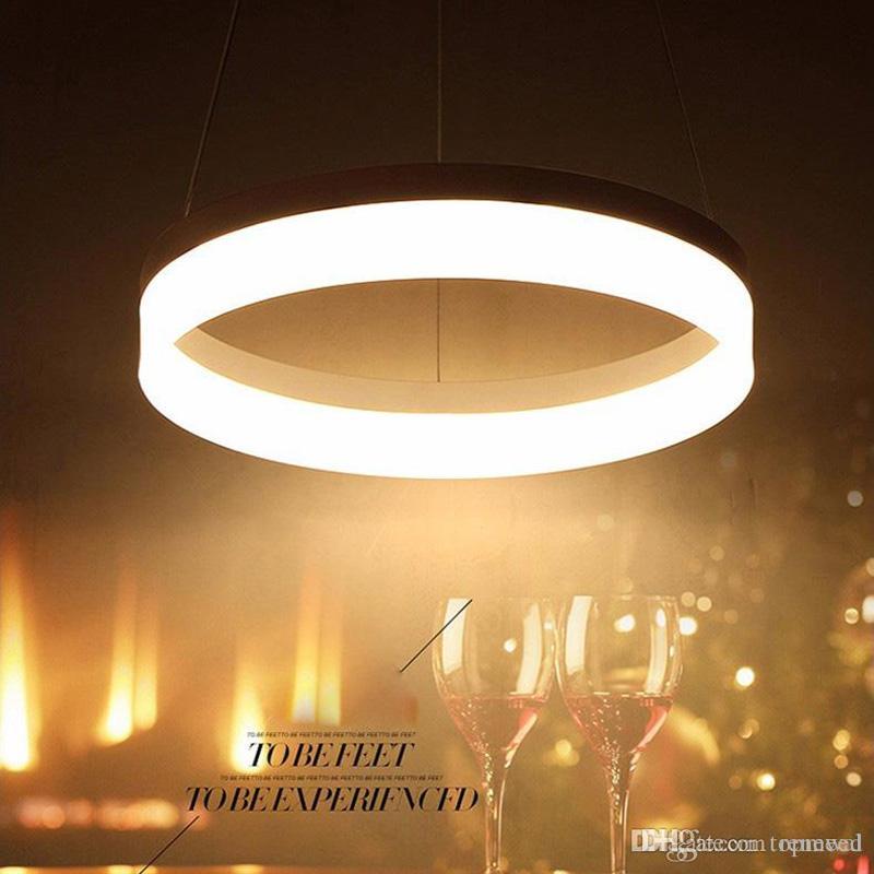 Modern avize Yemek Odası Için LED Kolye Işıkları lamparas colgantes pendientes Asılı Dekorasyon Lamba Aydınlatma süspansiyon armatür