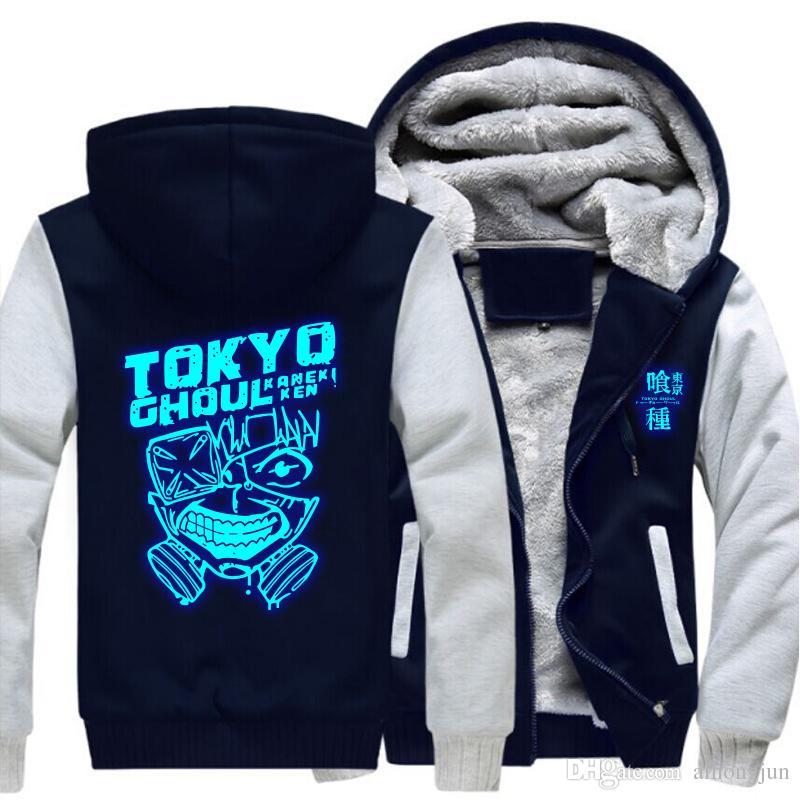 2020 2018 Anime Casual Jacket Tokyo Ghoul Ken Kaneki Cosplay Blue