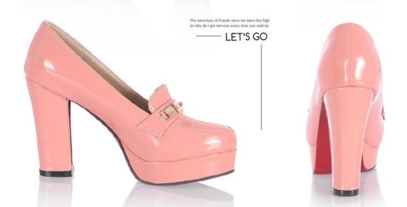 Бесплатно отправить 2018 весной и осенью новый стиль круглая голова водонепроницаемый стол грубый каблук на высоком каблуке Женская обувь