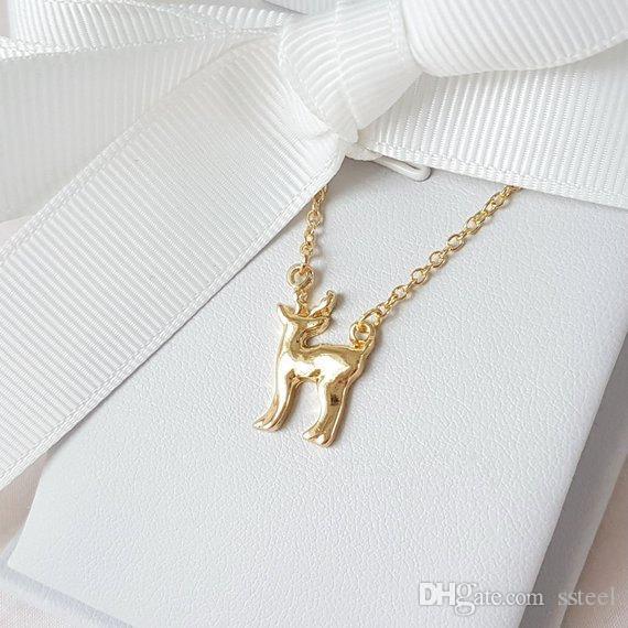30pcs Wild Protection Animal Fawn Bracelet Little Giraffe Elk Antler Bracelet Christmas Deer Sika Deer Bracelet Simple Lucky Amulet Jewelry