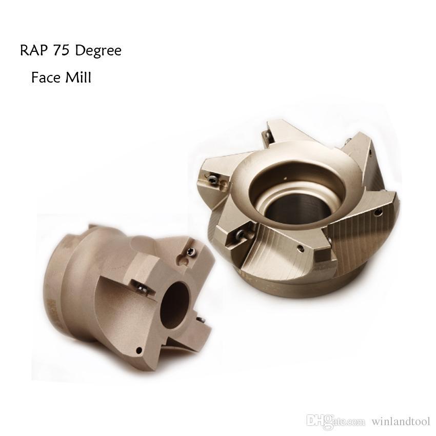 Diametro di taglio del frantumatore ad alta resistenza di RAP 75 gradi 300R 400R 75 gradi per APMT1135 APMT1604