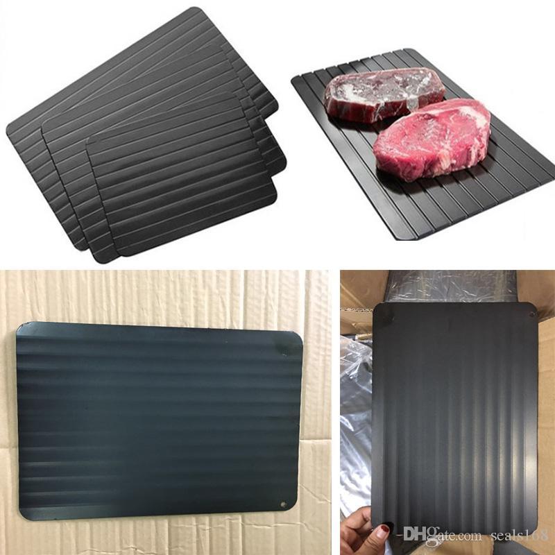 Разморозьте поднос таяния новый размораживая поднос мясо или замороженные продукты быстро без электричества микроволна таяние замороженные продукты в минутах HH7-899