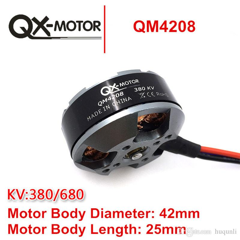 QX-MOTOR QM4208 3508 Brushless Motor For RC Multirotor Quadcopter Hexa Drone Original Manufacturer Factory Support Retail and Wholesale