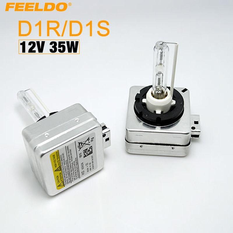 FEELDO 1 paire D1S / D1R / D1C phares à ampoule xénon DHI remplacement OEM 4.3k-12k # 4019