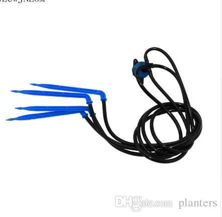 Sulama damlatıcı bükme ok 4 şube mikro yağmurlama sera 8L sabit akış cihazı damla sulama sistemi 2 takım