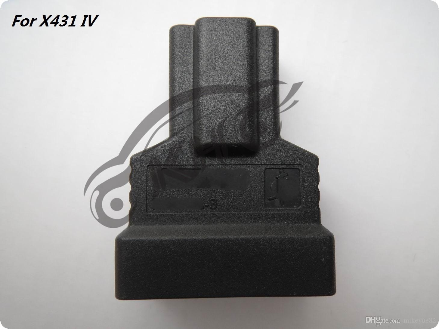 100% Original for LAUNCH X431IV for HONDA-3 Adaptor Connector for X431 4 Fourth Generation Adapter OBD II Connector