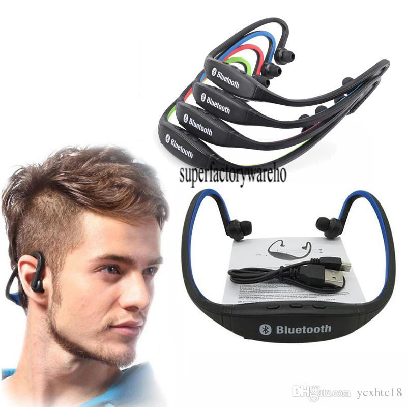 SOROPIN Sports Wireless Gamer Headphones Stereo Bluetooth Gaming Headsets Earbud S9 Hands-free Earphone For Mobile Xiaomi iPhone