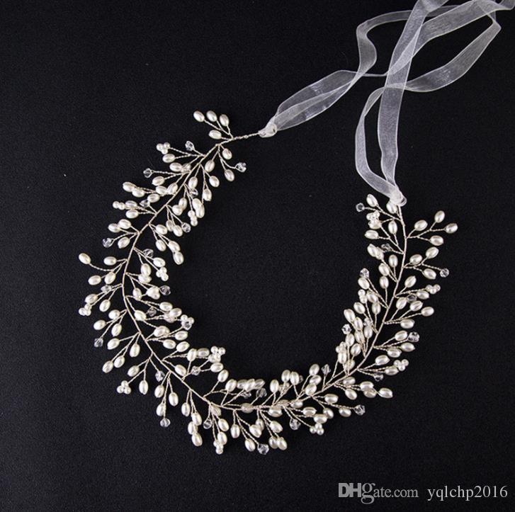 Gold leaf flower, headwear, wedding dress, accessories, headband, bridal ornaments.