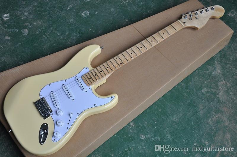 حار بيع نوعية جيدة اينغفي مالمستين الغيتار الكهربائي الجسم صدفي الأصابع ذو الرأس الكبير الزيزفون حجم قياسي