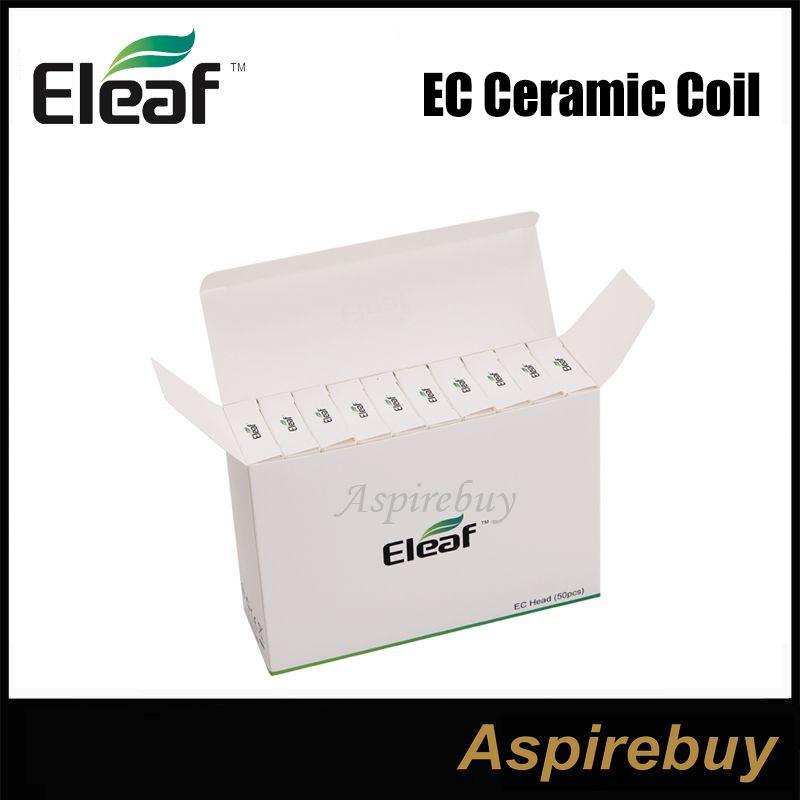 Eleaf Ijust 2 atomizerタンクのための100%本物のエレーフijust 2 ECデュアルコイル交換コイルヘッド