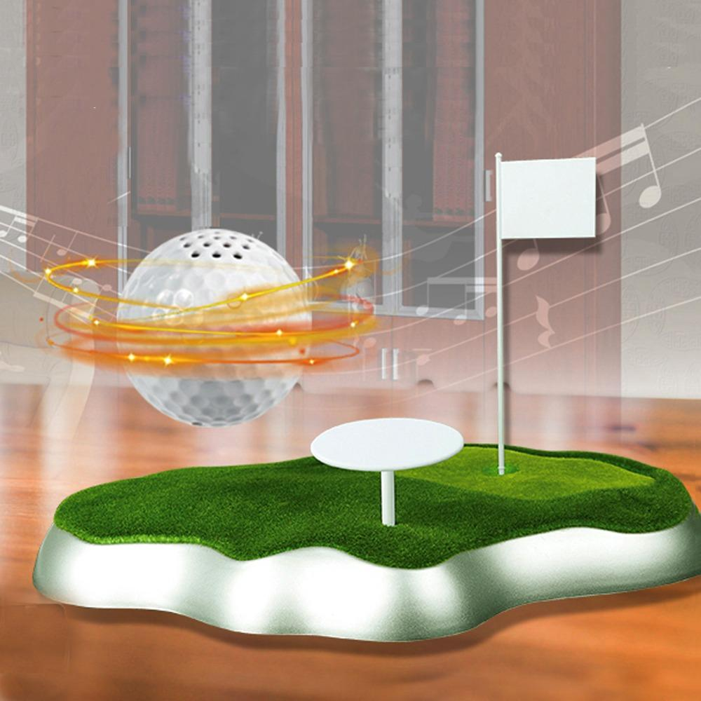 wholesale Magnetic Levitating/Floating Wireless Portable USB golf ball-shaped Bluetooth Speaker Boombox