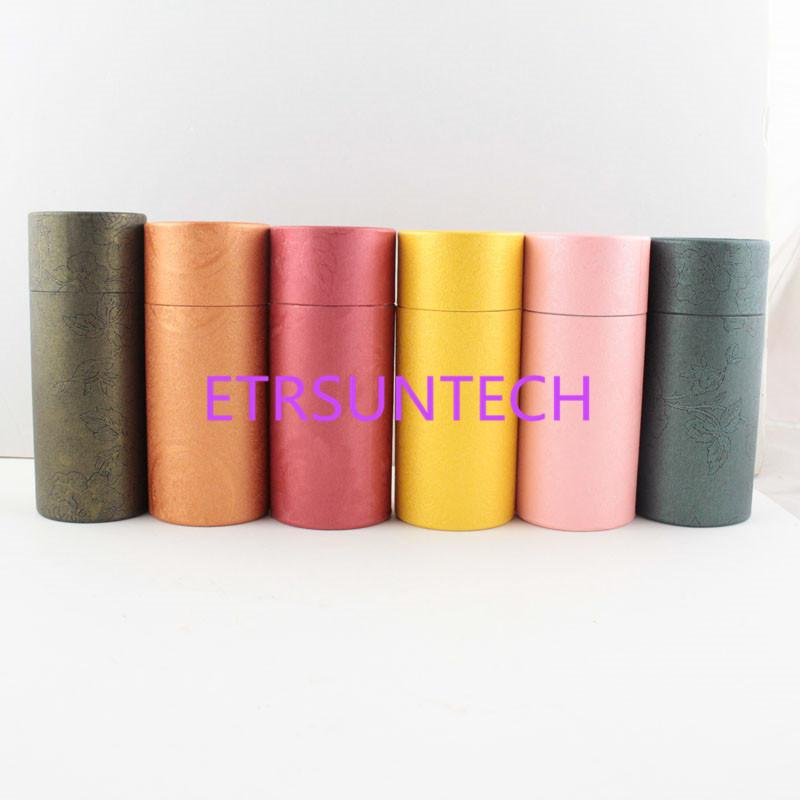 10ml Essential Oil Bottle Kraft Paper Packaging Cardboard Tube Jewelry/Cosmetics /Gifts Packing Box Free Shipping QW8222