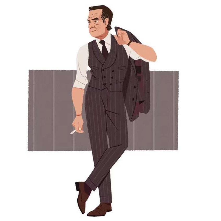 TIAN QIONG Fashion Men's Business Casual Boutique 3 Pieces Suit Sets / Male Solid Color Blazer Jacket Coat Vest Pants