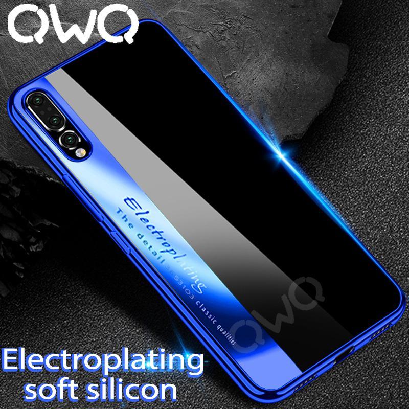 Funda ultra delgada para teléfono de Huawei P20 Pro P20 Lite Funda P10 Lite Tpu de silicona suave para Huawei Mate 10 Lite 10 Pro Estuches