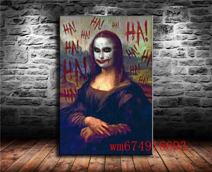 Un Artista Inserta Al Joker , Холст штук Home Decor HD печатный современное искусство живопись на холсте (без рамы / в рамке)
