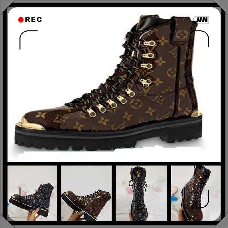 브랜드 남성 여성 스텔라 가죽 스니커즈 부츠 디자이너 레이디 캔버스 사이드 지퍼 플랫 고무 밑창 Hi-top Casual Shoes 35-45