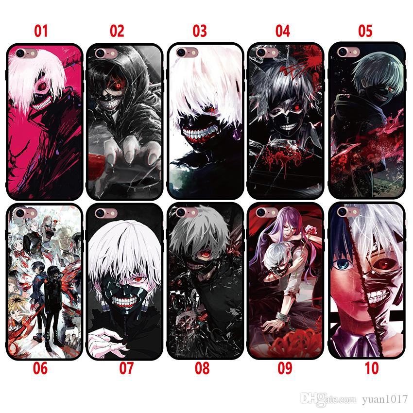 New Style Tokyo Ghoul Case For IPhone 8 7 6 6S Plus X Silicone ...