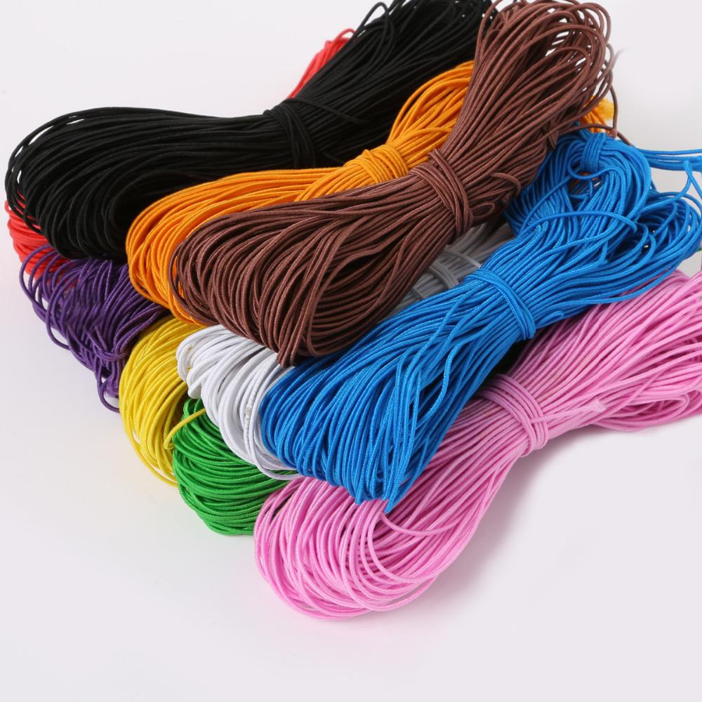 2020 Elastic Cord Beading Thread 25meters Stretch Koord Strap String For Diy Bracelet Parts Jewelry Findings Making Supplies 1mm From Hi Meetyou 13 2 Dhgate Com