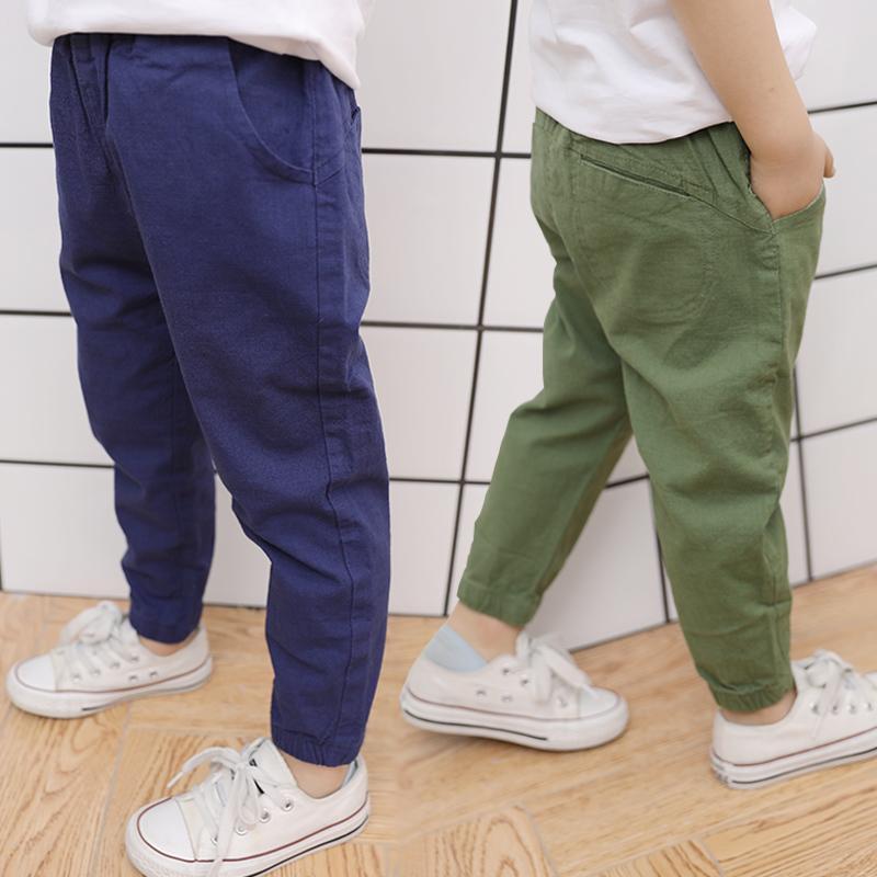 아이들 바지 남성 3-5 년 Catamite 쉬운 방위 모기 팬츠 아기 여름 얇은 섹션 작은 아이들의 의류 Leisur