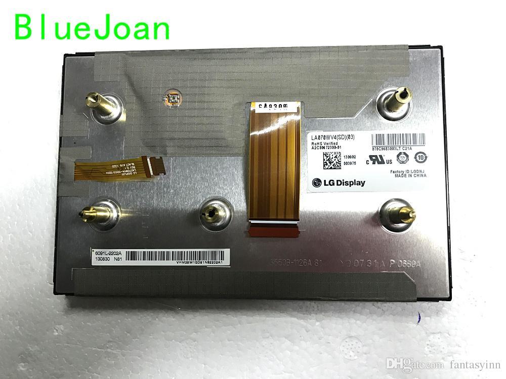 새로운 LA070WV4SD03 LA070WV4-SD03 메르세데스 카 네비게이션 오디오 시스템 용 LCD 모듈 7inch LA070WV4 (SD) (03) LCD 모듈