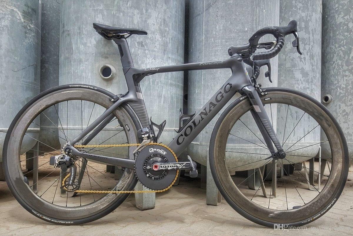 Bob Colnago DIY Углеродная дорога Полный велосипед / полный велосипед с 105 R7010 GOUNGSSET 454 УГЛУЧАЯ СОЗД