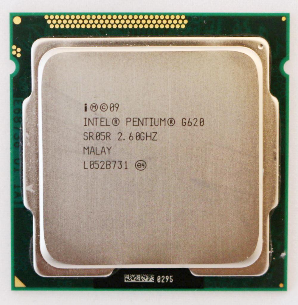 Intel Pentium G620 SR05R 2.6GHz 3M Socket LGA1155 CPU