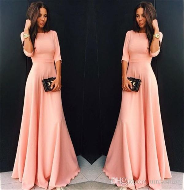 Autumn Winter Elegant Long Dress Floor Length Party Gown Full Sleeve Maxi Dress Fashion Sexy Evening Party Dresses