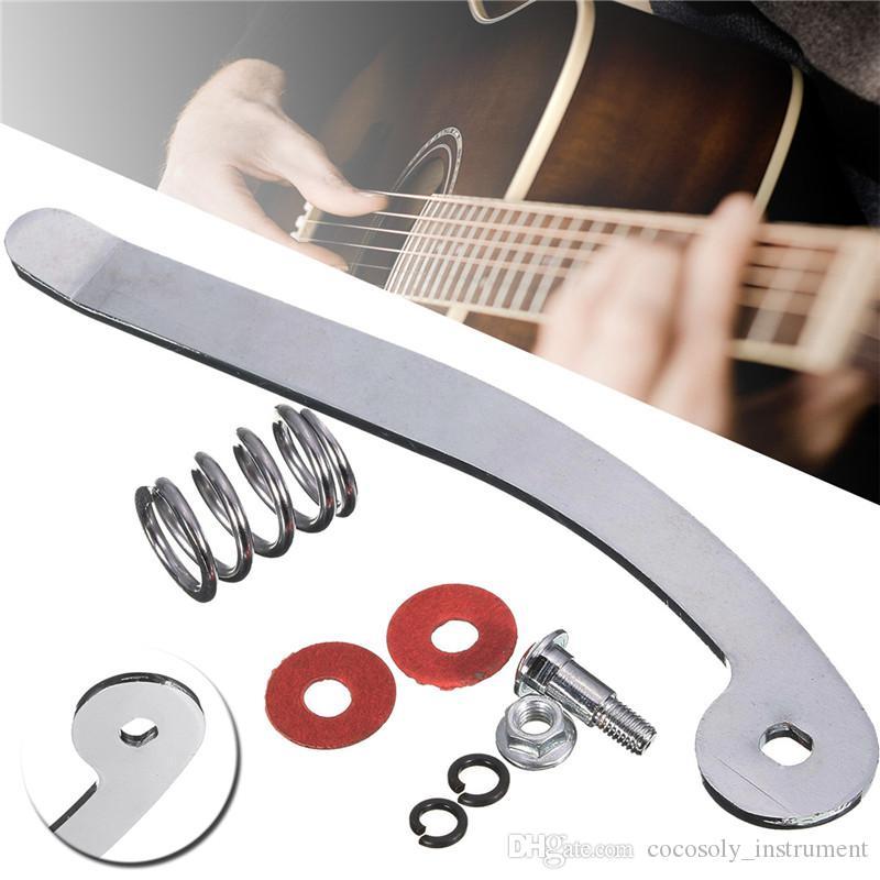 A Set Guitar Tremolo Bar + Spring Arm Nut Tremolo basso per chitarra strumenti musicali a corde Accessori