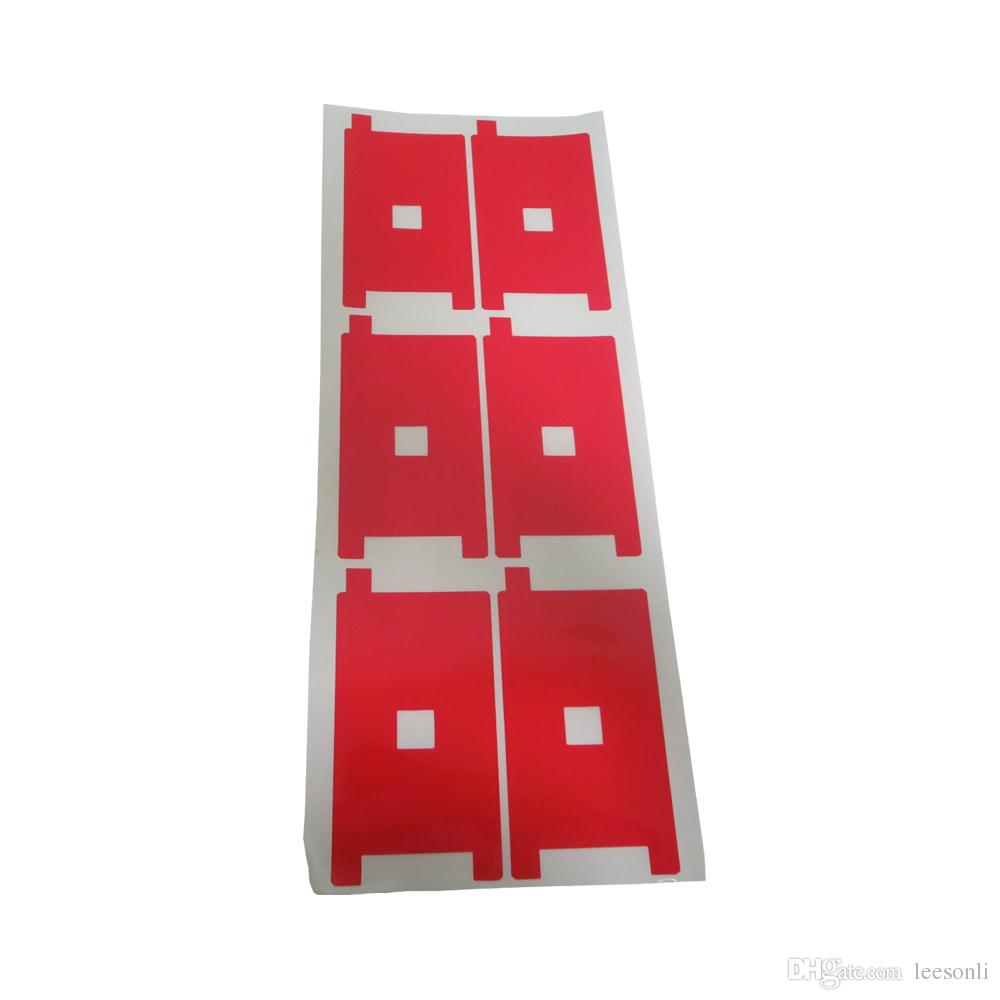 100pcs/lot Red Color LCD Backlight Protector Film for iPhone 5G 5S 5C Display Screen Refurbishment