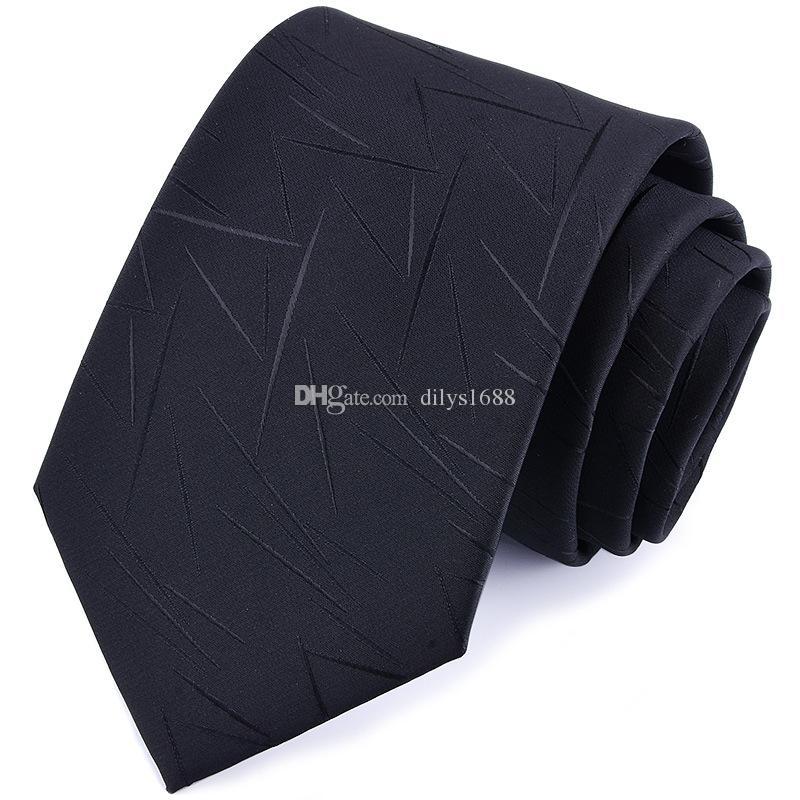 Бизнесмены галстук полиэстер галстук для мужчин 6 цветов дополнительные галстуки 1200 иглы высокой плотности ткани шеи галстук