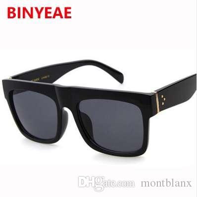 carré lunettes de soleil femmes marque rivet décoration chic vintage lunettes de soleil points sunnies Lunettes féminines lunettes kim kardashian