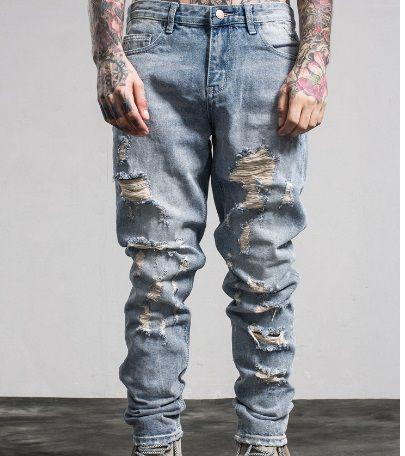 Compre Verdaderos Hombres Jeans Design Tr Para Hombre Pantalones De Mezclilla Hip Hop Hombres Jeans Religion Marca Largo Recto Estilo De Diseno Moderno Robin Jeans Caliente A 39 95 Del Maryshopping Dhgate Com