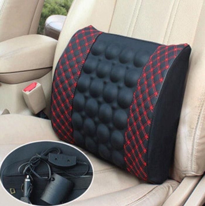 12V Auto Car Seat oreiller / taille coussin appui-tête Universal Fit SUV berlines siège avant / arrière des pièces automobiles massage soins de santé